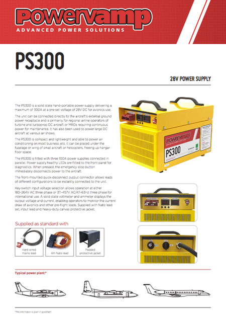 PS300 Data sheet