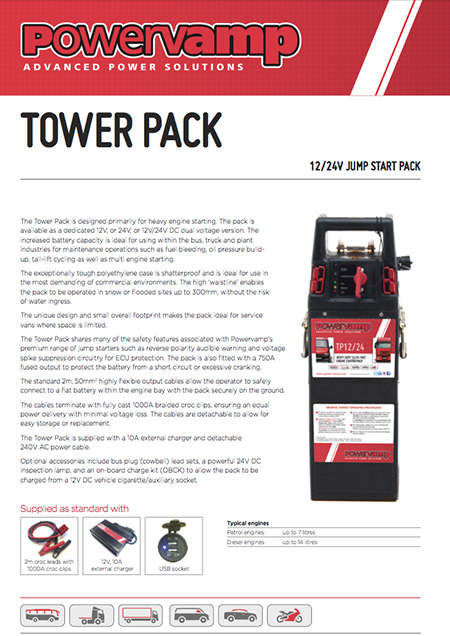 Tower Pack Data sheet