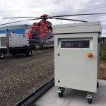 Powervamp Supply PV-45 Frequency Converter to CHC Helicopters