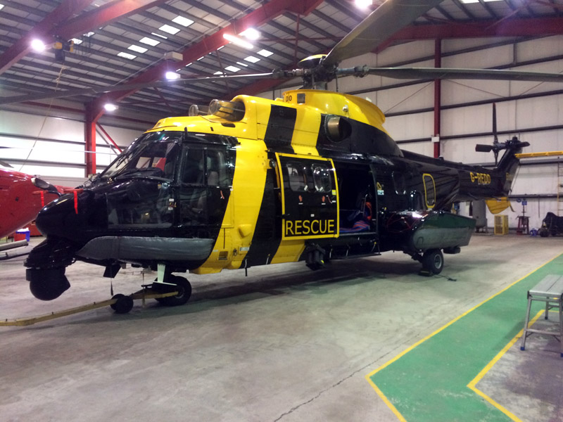 Powervamp Support Team Keep Sumburgh Search and Rescue Flying