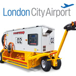 Powervamp's 'Anti-pollution' Custom Ground Power at London City Airport - feature