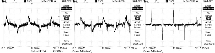 Powervamp used waveform diagnostics to determine how best to calibrate the EF5 for the new LED lighting.