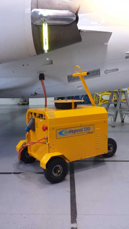 Coolspool 130 plane charging