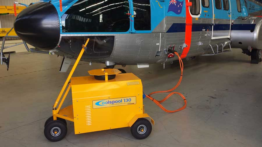 Coolspool 130 plane