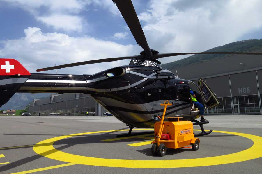 Coolspool 260 helicopter