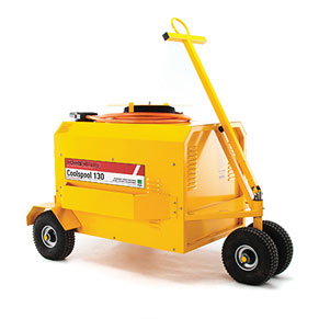 Coolspool 130 <br/> <small> 28V Battery Ramp Cart</small>