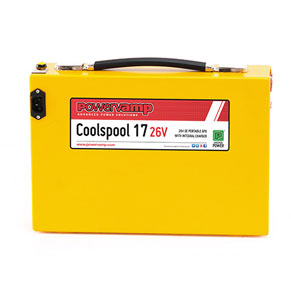 Coolspool 17<br/> <small>28V or 26V Aircraft Start Unit</small>