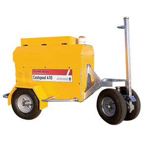 Coolspool 410 <br/> <small> 28V Battery Ramp Cart </small>