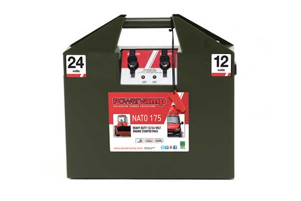 Nato 175 <br/><small>12/24V Heavy Duty Jump Start Pack</small>