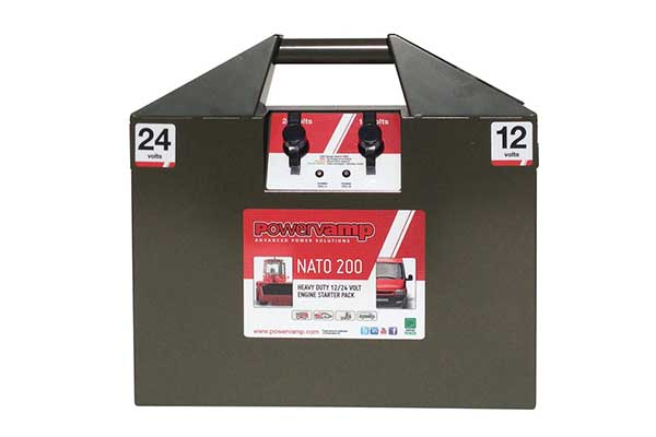 Nato 200 <br/> <small>12/24V Heavy Duty Jump Start Pack</small>