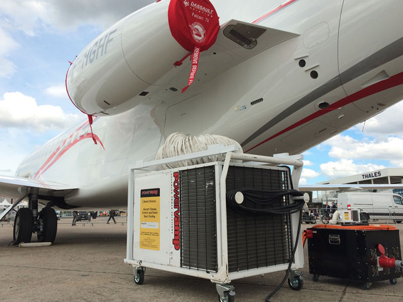 Powervamp airshow equipment