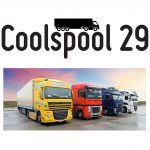 Coolspool 29 on trailers