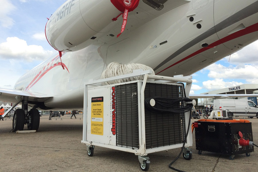 Coolers3 Tonne Portable Air Conditioning Unit Powervamp