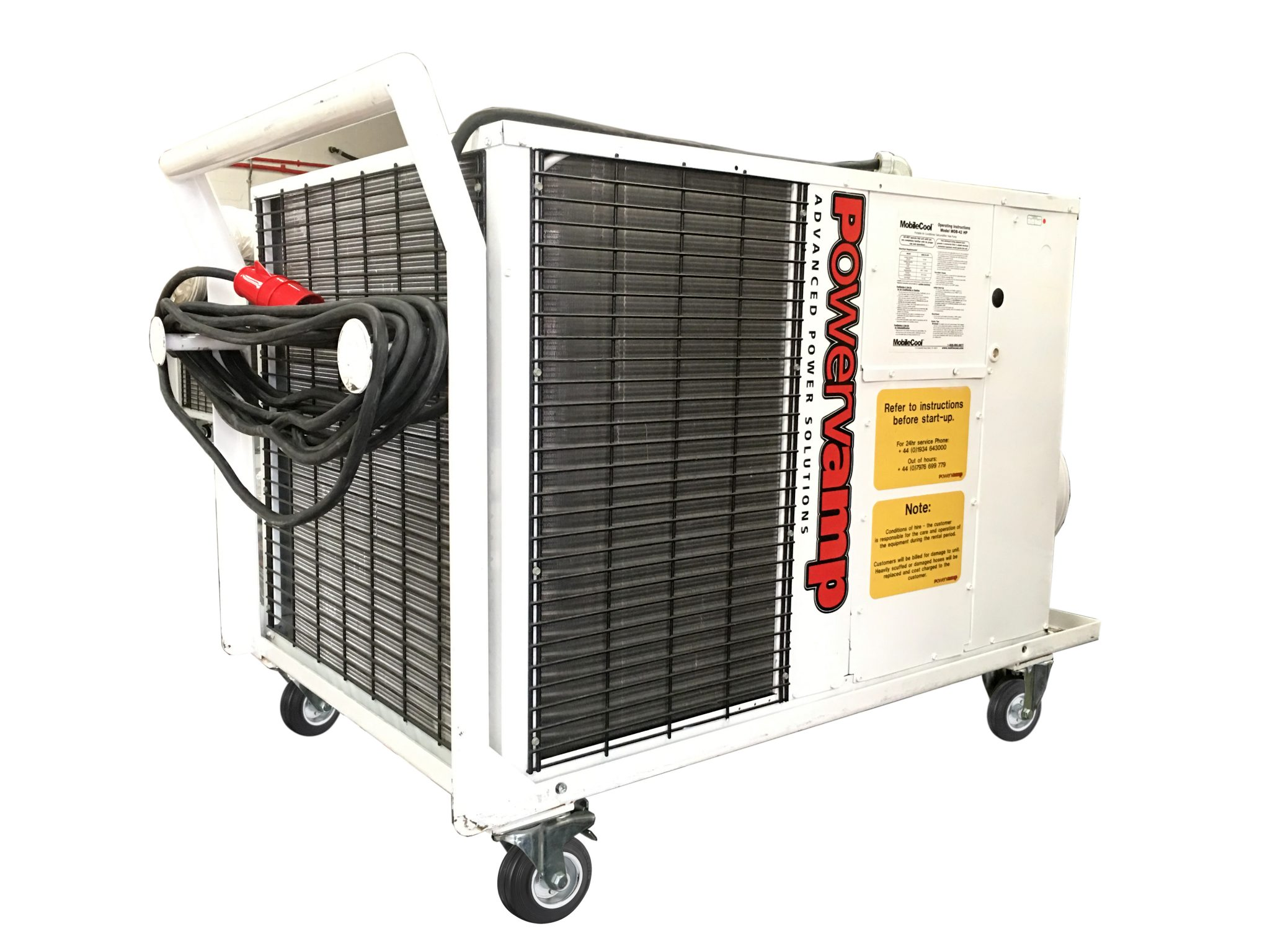 Cooler Air Units : Coolers tonne portable air conditioning unit powervamp