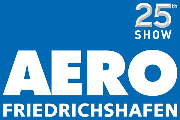 Aero Friedrichshafen 25th show logo