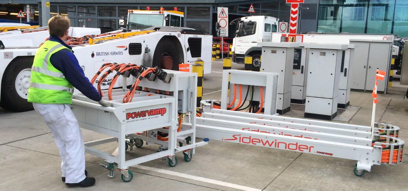 Powervamp Sidewinder on site