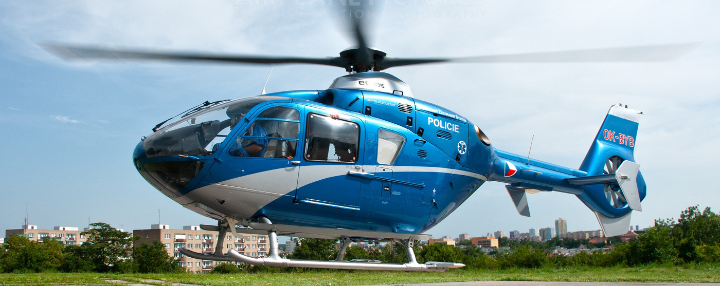 Czech Republic Police Helicopter