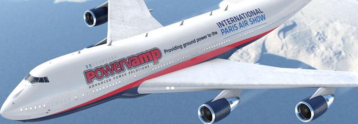 Powervamp at the Paris Air Show