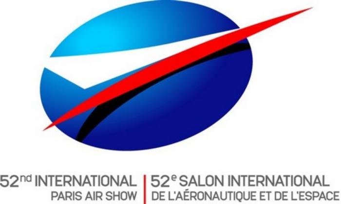 52nd Paris Air Show logo