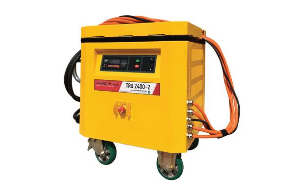 Tru 2400 2 Easily Manoeuvrable Power Supply Powervamp