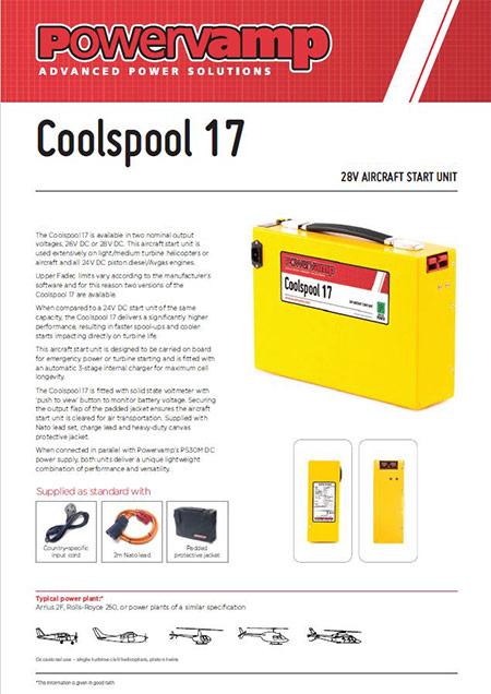 Coolspool 17 Data sheet
