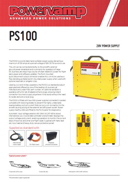PS100 Data sheet
