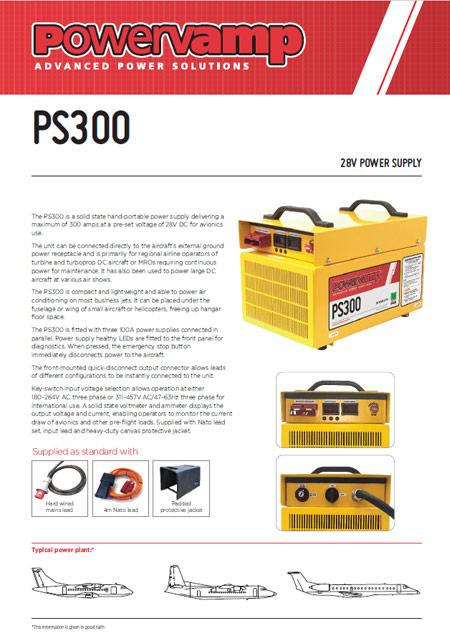 PS300 Data sheet