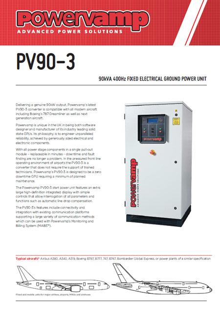 PV90-3 Data sheet