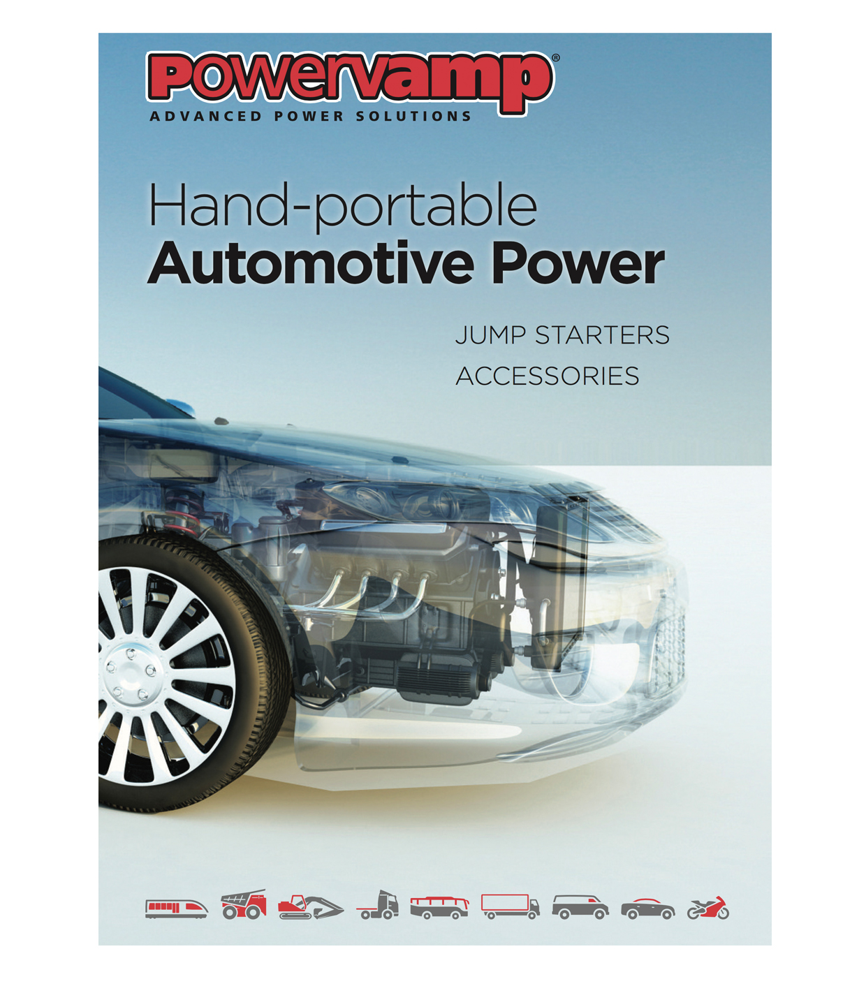 Powervamp automotive power brochure cover