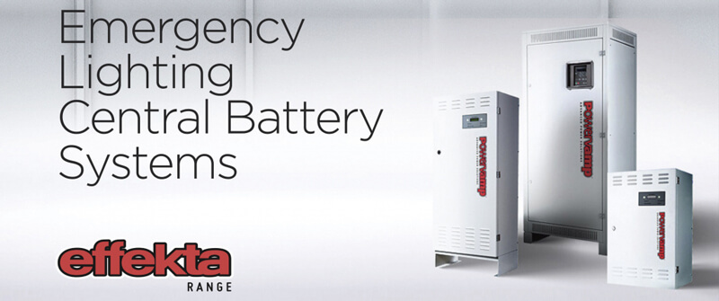 Emergency lighting central battery system