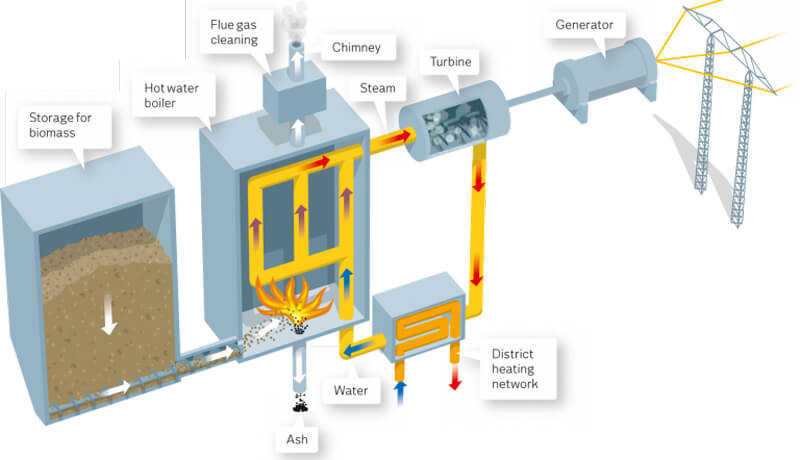 Biomass-Fired Power Plant Operation