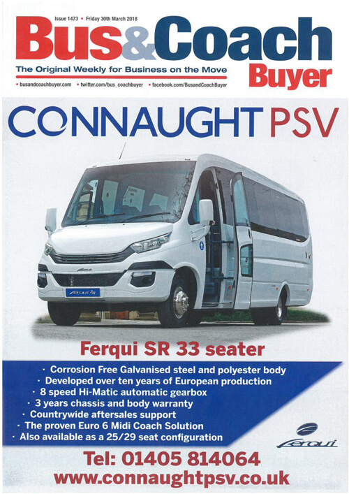 Powervamp feature in Bus and Coach buyer Magazine