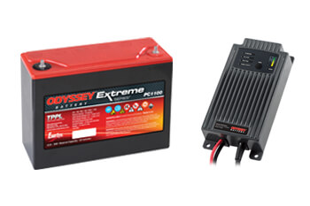 Powervamp Odyssey Batteries and chargers