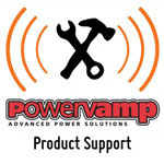 Powervamp Product Support logo