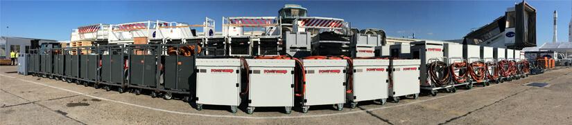 Powervamp Lease and Rental Fleet