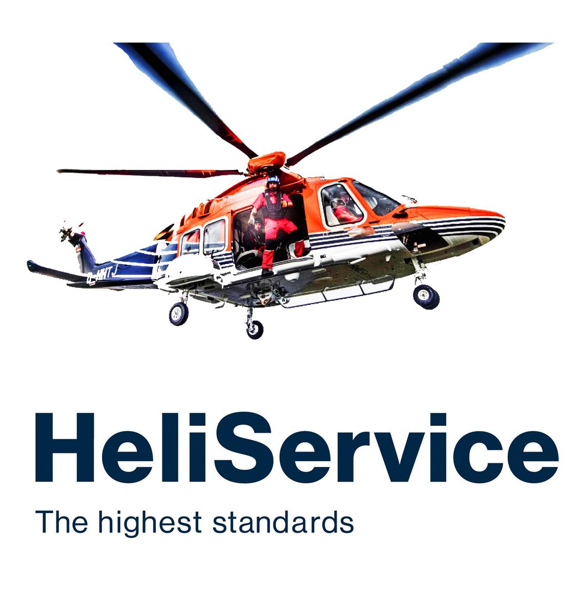 Heliservice logo - the highest standards
