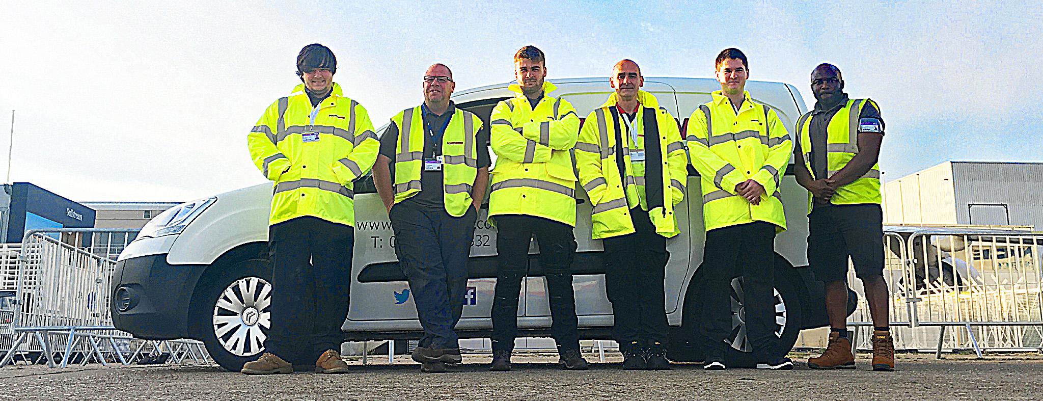 Powervamp - Airshow support staff