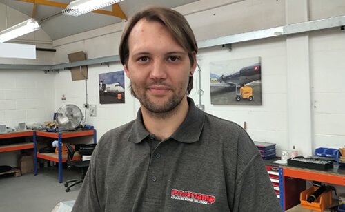 Christiaan Wassermann - Electromechanical Technician
