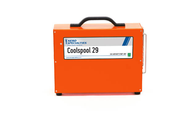 Coolspool 29 <br/><small>28V or 26V Aircraft Start Unit</small>
