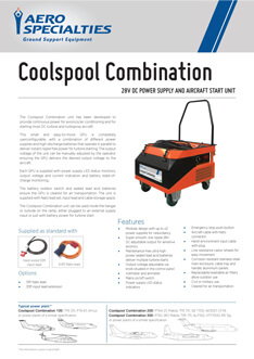 AERO Specialties - Coolspool combination Datasheet