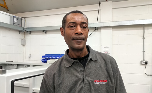 Errol Lewis - Electromechanical Technician